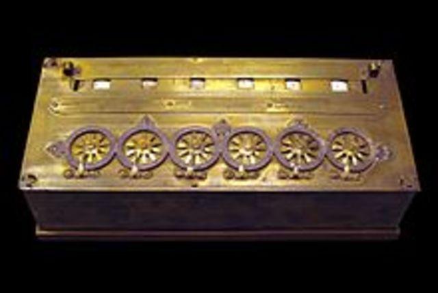 Pascal - Calculadora mecánica digital