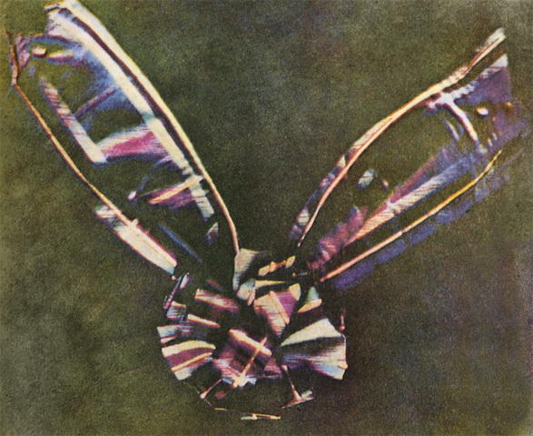 1861 Se toma la primera fotografía a color