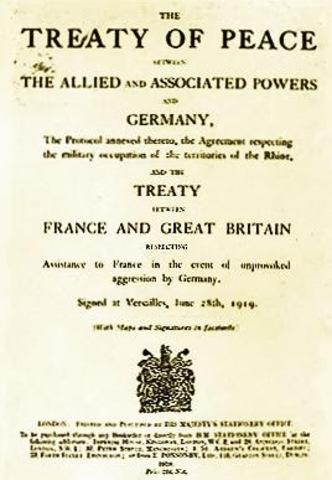 Tratado de Versalles - O.I.T