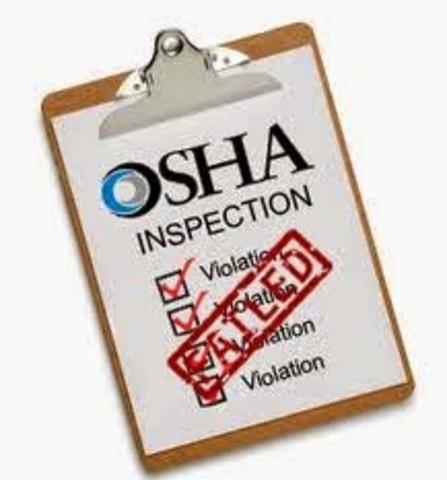 Se creo la OSHA