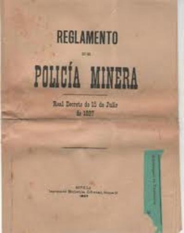 Reglamento de la Policía Minera