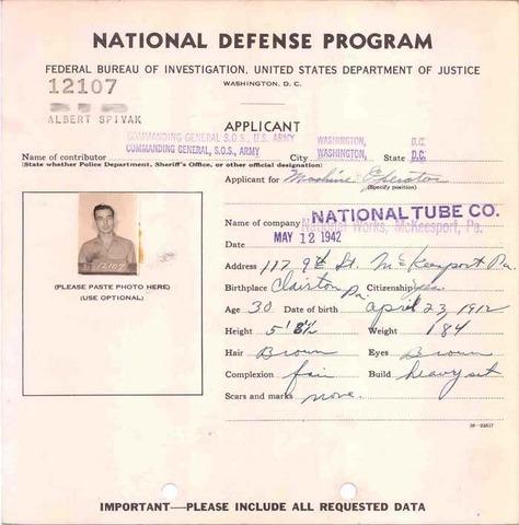 Nation's Defense Program