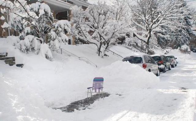 15-inch Snowfall