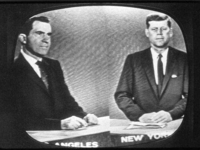 Primera transmisión de un debate político