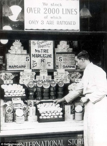 People were Rationing