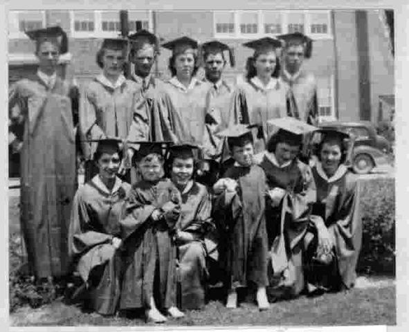 Aunt Graduates