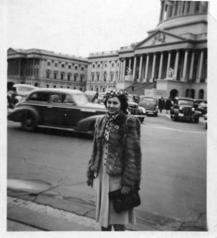 Grandma Sent to Washington D.C.