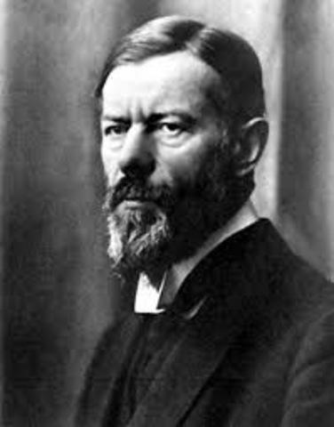 ciencias de la conducta Max Weber ¿qué es la burocracia?