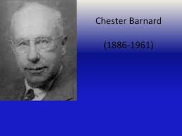 teoria de sistemas  Chester Barnard (funciones ejecutivas)