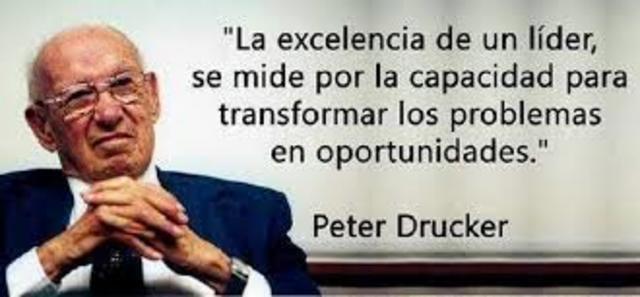 pensamiento moderno administrativo Peter F. Drucker
