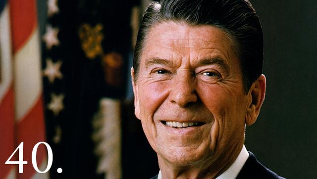 President Ronald D. Reagan
