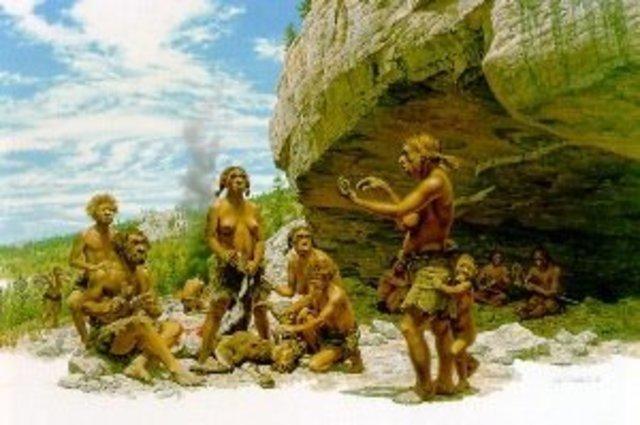 Época primitiva 500 a.c