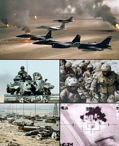 Operation Desert Storm- Persian Gulf War