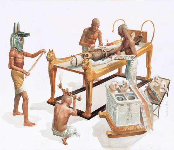 LA MORTALIDAD EN EL ANTIGUO EGIPCIO 2.450