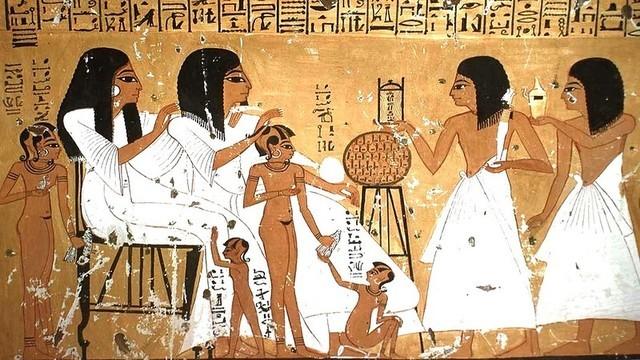 CIVILIZACIÓN, INFANCIA Y ADOLESCENCIA ANTIGUO EGIPTO 2.040