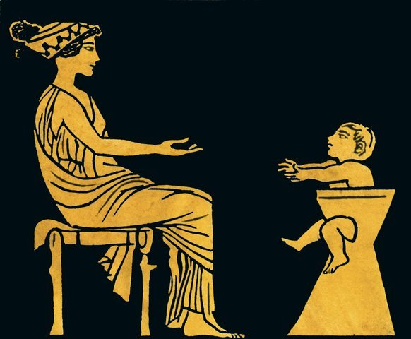 LA INFANCIA EN GRECIA 1.400