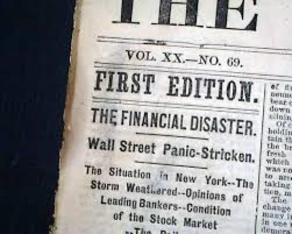 Panic of 1873 and Reconstruction Fades