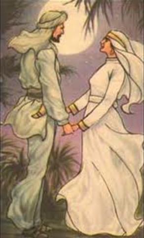 Muhammad and Khadija get married