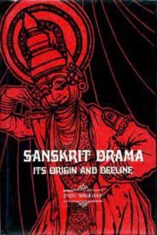 Sanskrit drama in India forms
