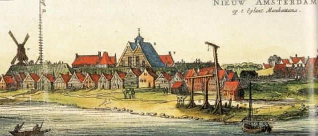 nueva amsterdam es llamada nueva york