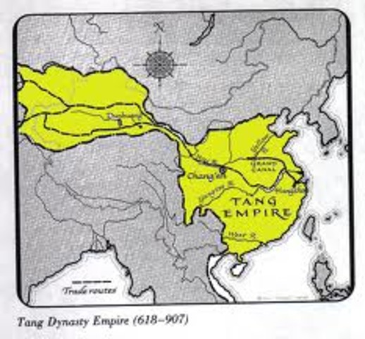 Tang dynasty forms in China