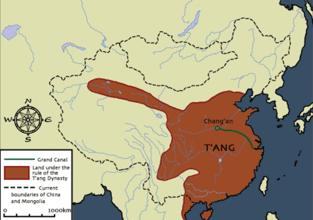 Tang dynasty takes over China