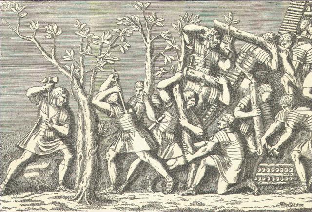 End of Roman-Persain war