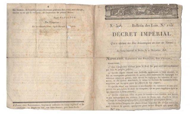 The Berlin Decree