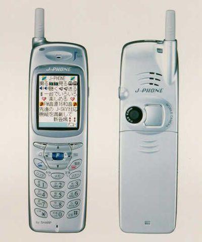 Integracion de las camaras fotograficas en telefonos celulares