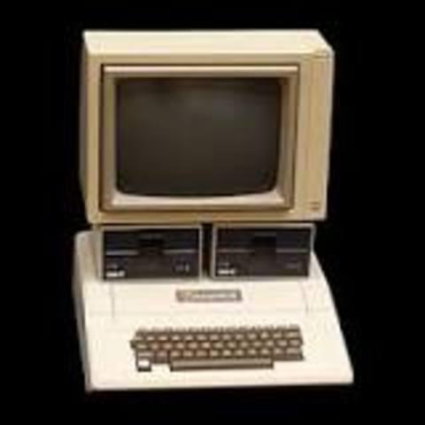 La Apple II con procesador de un megahertz.