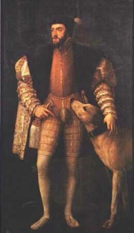 carlos quinto asume el trono de españa