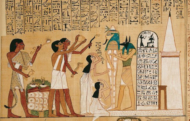 Ancient Egyptian's Period Health Care