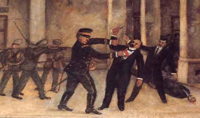 El poder de Madero y su posterior encarcelación