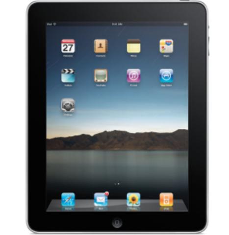la primer  iPad
