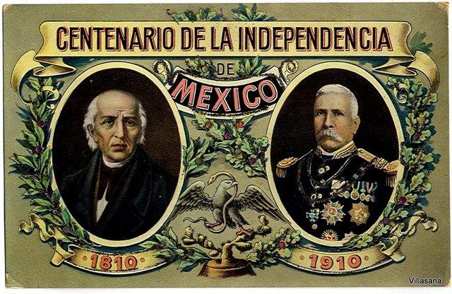 Festejos centenario de la Independencia