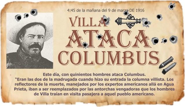 Villa invade Columbus