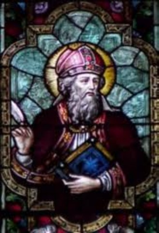 Saint Augustine founds English church