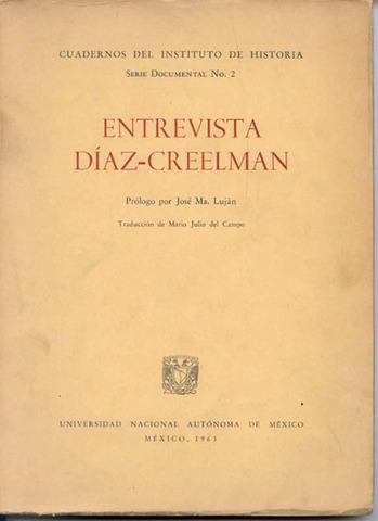 ENTREVISTA DIAZ---CREELMAN
