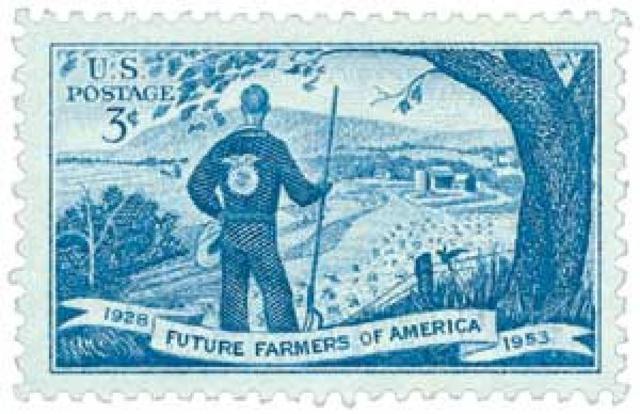 FFA postal stamp