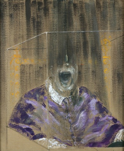 Francis Bacon begins using photographic source material