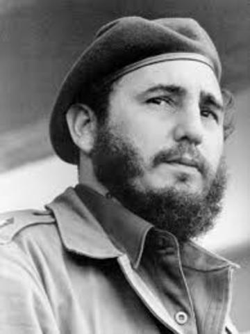 Fidel Castro takes over in Cuba