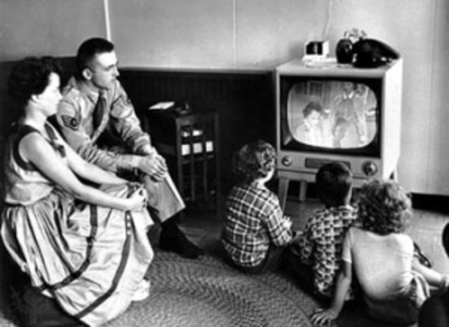 Primeras transmisiones de TV