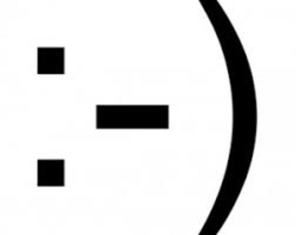 El primer emoticono