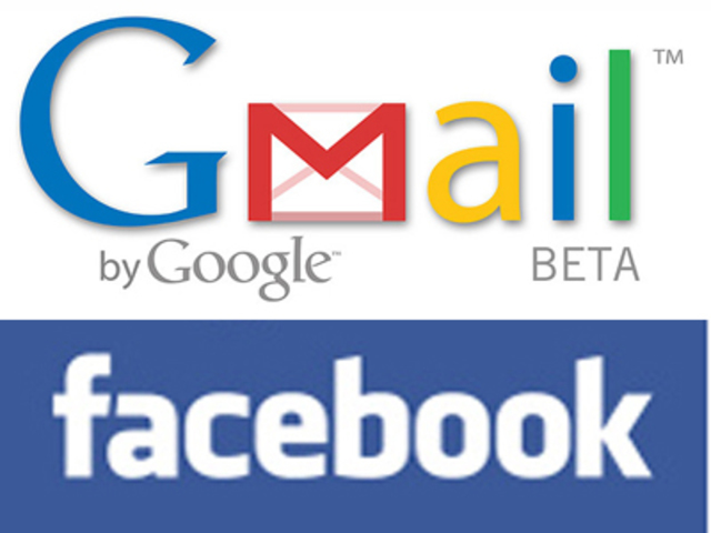 Facebook, Gmail, Flickr y Vimeo.