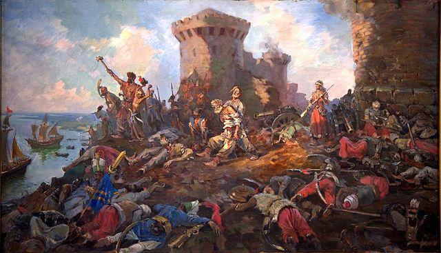 Захват крепости Азов казаками
