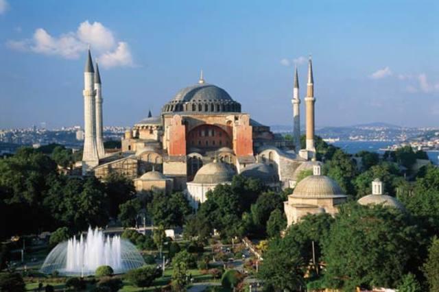 Hagia Sophia Completed