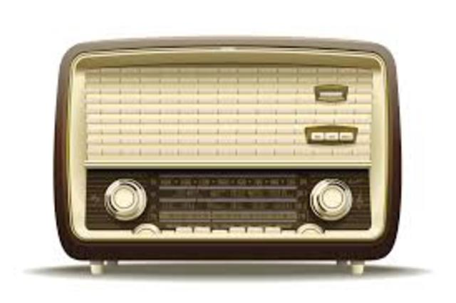 the first physical and real radio