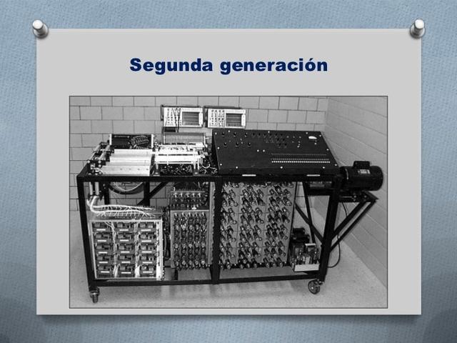 Computadoras de segunda generacion