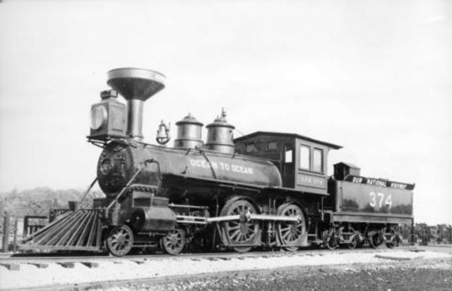 Train was invented