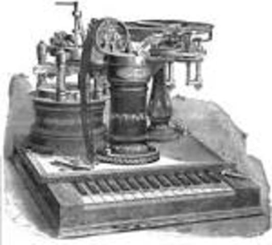 The telegraph was invented